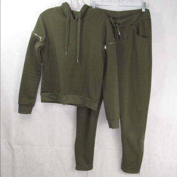REDFOX sweatshirt/pant set